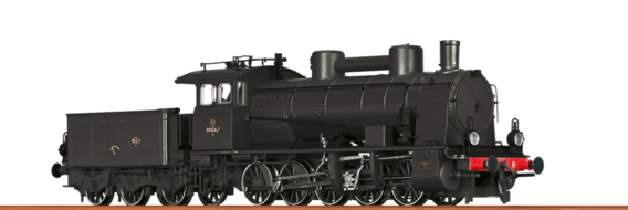 Steam Locomotive Reihe 1-050 SNCF