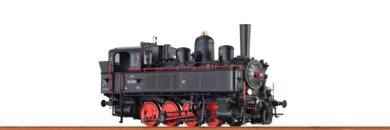 Tender Locomotive 178 BBÖ