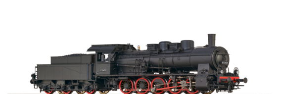 Steam Locomotive BR 61 a NSB