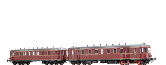 Diesel Railcar VT 62.9 and Trailer VB 147 DB