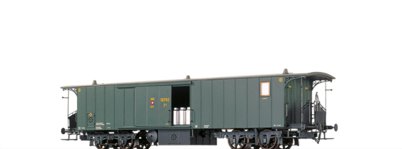 Luggage Car F4 SBB