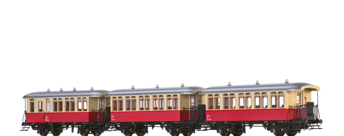 45637-Passenger-Coach-Bu/BPwu-Lokalbahn-Lambach-Haag - BRAWA  Modelleisenbahn, Modellbahn, Zubehör - Spur 0, O, H0, HO, TT, N, Z, IIm, 2m