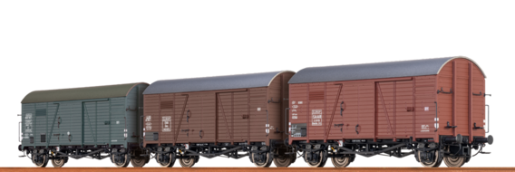 Covered Freight Car Gms 30 SAAR / ÖBB / SNCF / EUROP