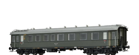 Fast Train Coach BC4i DRG