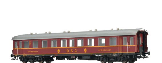 Fast Train Coach WR4ye 36/49 DSG