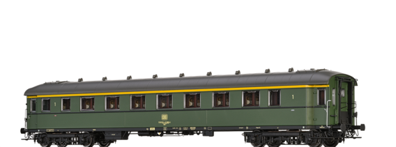 Express Train Coach Aüe 305 DB