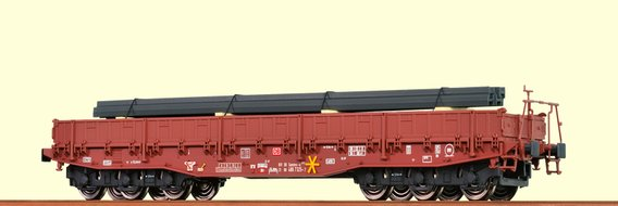 Heavy Duty Freight Car Samms DB AG, with freight