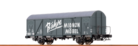Covered Freight Car Glmhs DB