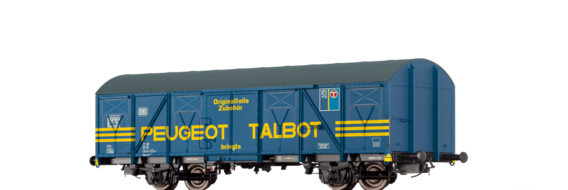 "Covered Freight Car Gos-uv 253 ""Peugeot Talbot"" DB"