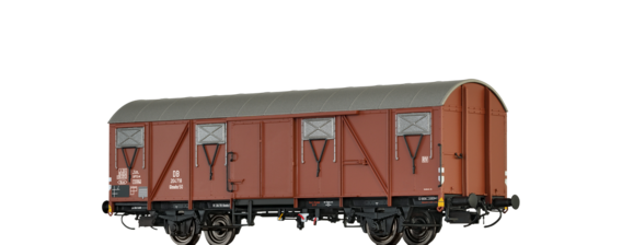 Covered Freight Car Glmehs 50 DB