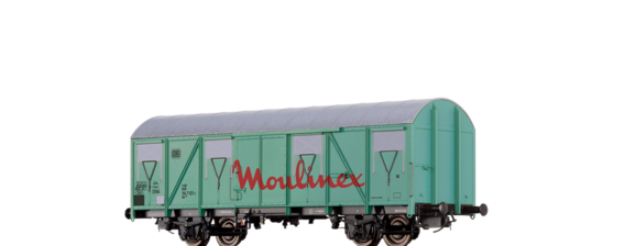 "Covered Freight Car Gos 245 ""Moulinex"" DB"