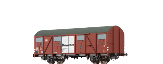 "Covered Freight Car Gbs 245 ""Rowenta"" DB"