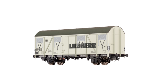 "Covered Freight Car Gbs 245 ""Liebherr"" DB"