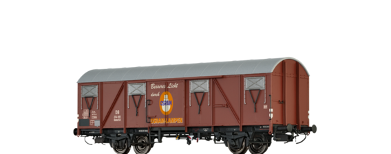 "Covered Freight Car Glmhs 50 ""OSRAM"" DB"