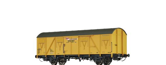 Covered Freight Car Gbs 245 Wiebe