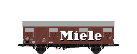 "Covered Freight Car Glmhs 50 ""Miele"" DB"