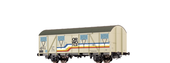 "Covered Freight Car Gos 1404 ""ORWO"" DR"