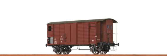 Covered Freight Car K2 MThB