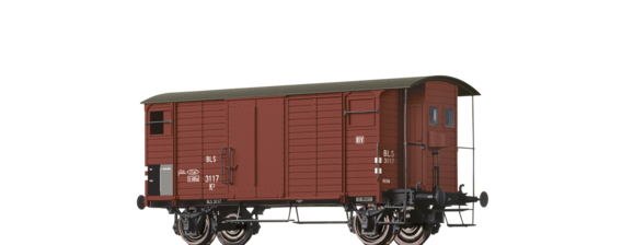 Covered Freight Car K2 BLS