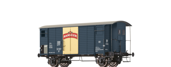 "Covered Freight Car K2 ""Ramseier"" SBB"