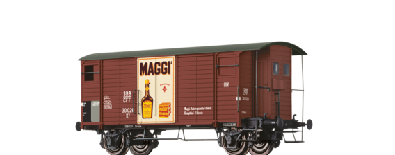 "Covered Freight Car K2 ""Maggi"" SBB"