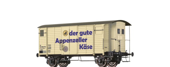 "Covered Freight Car Gklm ""Appenzeller Käse"" SBB"