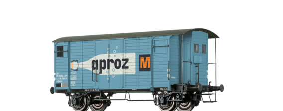 "Covered Freight Car Gklm ""Aproz"" SBB"
