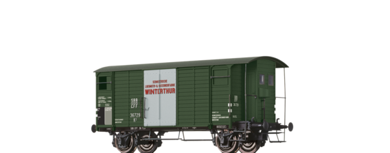 "Covered Freight Car K2 ""SLM Winterthur"" SBB"