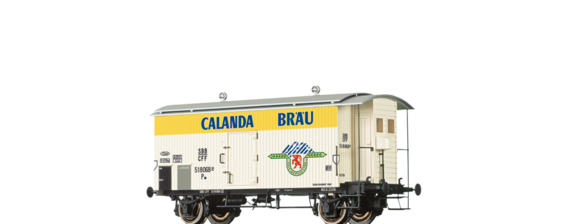 "Covered Freight Car K2 ""Calanda"" SBB"