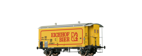"Covered Freight Car K2 ""Eichhof Bier"" SBB"