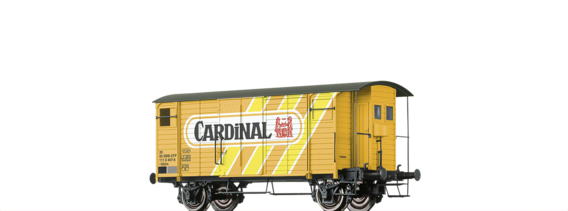 "Covered Freight Car Gklm ""Cardinal"" SBB"
