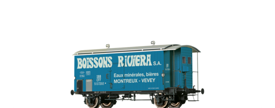 "Covered Freight Car K2 ""Boissons Riviera"" SBB"