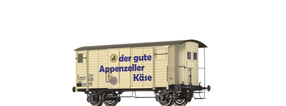 Covered Freight Car Gklm