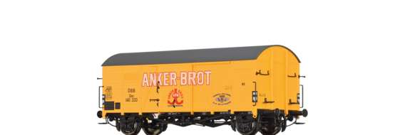 "Covered Freight Car Gms ""Anker Brot"" ÖBB"