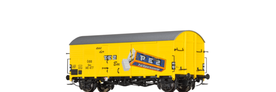 "Covered Freight Car Gms ""PEZ"" ÖBB"