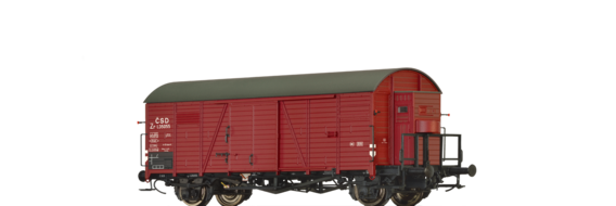 Covered Freight Car Zr CSD