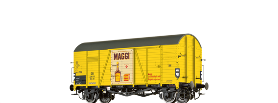 "Covered Freight Car Gms 30 ""Maggi"" DB"