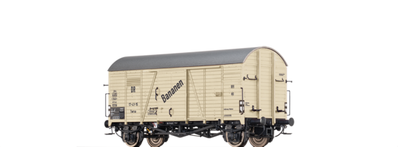 "Covered Freight Car Twrso ""Bananen"" DR"