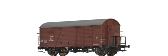 Covered Freight Car Gms ÖBB