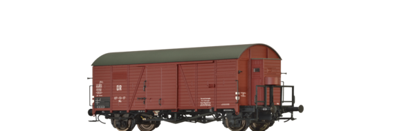 Covered Freight Car Ms DR