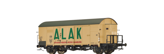 "Covered Freight Car Grs ""ALAK"" DB (Brit-US-Zone)"