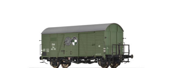 "Covered Freight Car Gms ""Steyr Puch"" ÖBB"