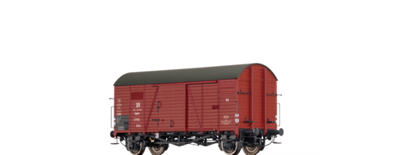 Covered Freight Car Grrhs DR Brit-US-Zone