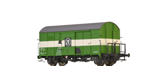 Covered Freight Car Gms 30 ZF