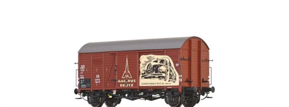Covered Freight Car Oppeln