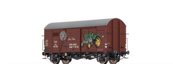 Covered Freight Car Gms
