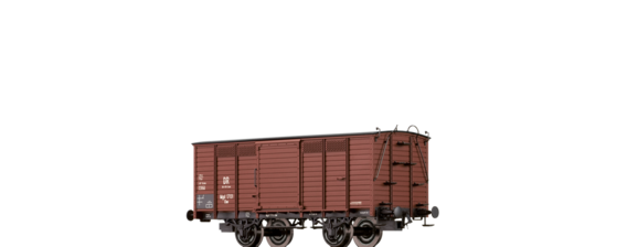 Covered Freight Car Gw Brit-US-Zone