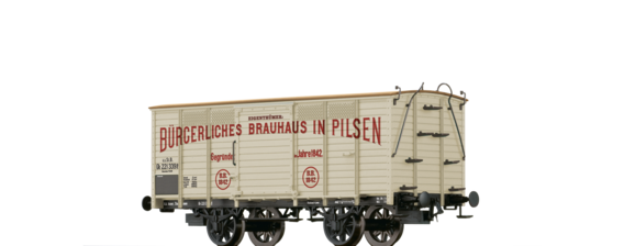 "Covered Freight Car Gb ""Pilsen"" kkStB"