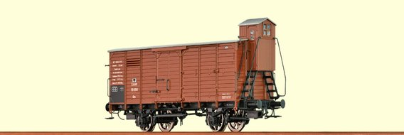 Covered Freight Car Gm K.P.E.V., with brakeman`s cab