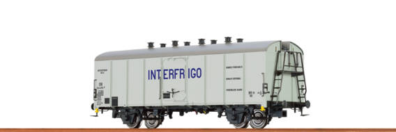 "Refrigerator Car UIC Standard 1 ""Interfrigo"" DB"